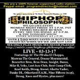 HipHopPhilosophy.com Radio - LIVE - 03-13-17