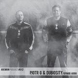 Aremun Podcast 12 - Pjotr G & Dubiosity (Gynoid Audio)