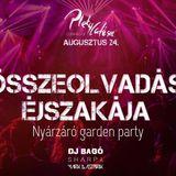 Sharpy live @ Összeolvadás Éjszakája - Nyárzáró Garden Party - Pletycafésec Tata - 2018/08/24