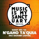 MIMS Guest Mix: N'GAHO TA'QUIA aka SAUCE81 (Japan)