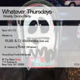 DJ Melowdee Live 10/20/16 - WHATEVER Thursdays at The Black Rose NYC