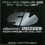 SCOTT BROWN - SLAMMIN VINYL @ BAGLEYS 2ND FEB 2001