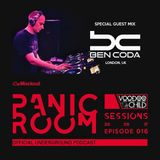Panic Room Sessions #016 With BEN CODA