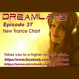 Dreamland Episode 37, Week of April 5th, 2017, New Trance Chart
