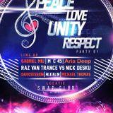Alkalin pres Peace Love Unity Respect Party 01 live @ SWAP Club Bucharest 12.09.2015.