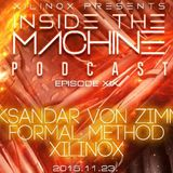 Aleksandar von Zimmer - Inside The Machine Podcast 2015.11.24