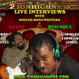 DJANI LIVE INTERVIEW WIH DJ JAMYY ON ZIONHIGHNESS RADIO ON 16 JULY 2013
