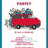 LIVE @ ZIRKROPARTEY , Postbahnhof Berlin 19/07/2013