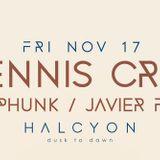 Dennis Cruz - Live @ Halcyon Club (San Francisco, USA) - 17.11.2017