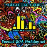 7 years of Chaotic Beats - GOA birthday set live @ klub Cvetkovic 25.10.2014.