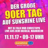 sunshine live - Der 90er Tag 2017
