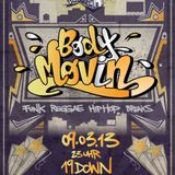Body Movin' Mini Mix (March '13)