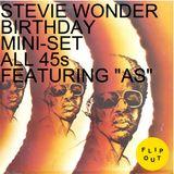 "STEVIE WONDER BIRTHDAY MINI-SET ALL 45s FEATURING ""AS"""