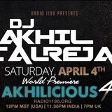 BeatsFromTheEast April 4th with DJ Akhil Talreja!