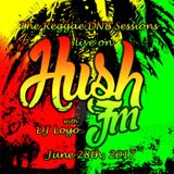 The Reggae DNB sessions with Logo - Live on www.HushFM.com - 6.28.2017