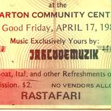 Jah Love Muzik @ Ewarton Community Centre  Ilawi & Briggy 1981 (DB#16)  D Brown Collection