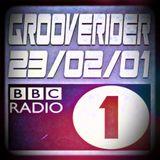 GROOVERIDER @ BBC RADIO 1 - 23/02/01