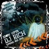 DJ RICH - Spring Mix 2011 - ZION CUTS SOUNDSYSTEM