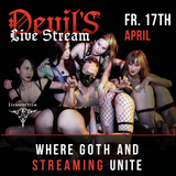 Devil'S - where Goth & STREAMING unite - Insomnia Berlin Fr. 17 April 2020 - DjARI