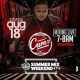 DJ CAMZ LIVE ON HOT 97 ALL SUMMER MIX WEEKEND 8-18