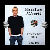 Dj Massimo Alberti - The 90's vol. 100