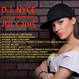 D.J. NYCE - JULY HIPHOP RANDOMS 2015 SIDE A
