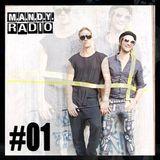 M.A.N.D.Y. - M.A.N.D.Y. Radio 001 (Live From ADE 2014) - 25-11-2014 [Sh4R3 OR Di3]