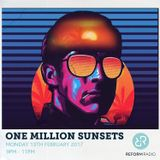 One Million Sunsets 13th February 2017