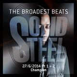 Solid Steel Radio Show 27/6/2014 Part 1 + 2 - Champion