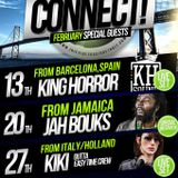CONNECT! RADIO SHOW EPISODE # 109_13_02_2014__Special guest KING HORROR_______WWW.BALOOBASOUND.COM