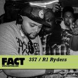 FACT mix 357 - R1 Ryders (Nov '12)