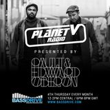 PLANET V RADIO ON BASSDRIVE WITH PAUL T & EDWARD OBERON AND  GUEST MIX FROM  MARGAMAN  - MARCH 2017