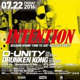 U:ICHI at WOMB (Tokyo Japan) 22.07.2016 INTENTION feat D-UNITY