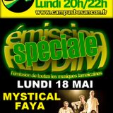Emission RIDDIM 18 mai 2015 avec Mystical Faya