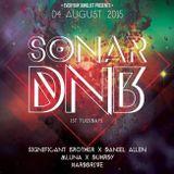 Sonar 8//4/15 Daniel Allen b2b SignificantBrother w/ Duhrdy & MLuna