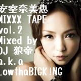 安室奈美恵 MIXXX TAPE vol.2/DJ 狼帝 a.k.a LowthaBIGK!NG
