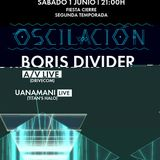 Boris Divider - Live At Oscilacion Sala Siroco ( Madrid 01-06-2013 )