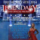 LEGENDARY THE OFFICIAL 90s PARTY JULY 4