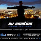 Progressive and Deep House set 2 Hours - DJ Emotive on DanceRadioUK March 2016