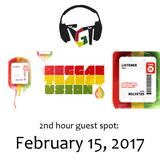 """Reggae Transfusion"" on KGNU Community Radio [02-15-2017]"