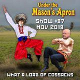 Under the Mason's Apron Folk Show #87 NOV 2018