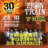 Zion Train live at Czworka (radio) October 2018