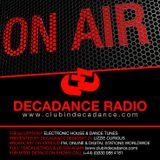 LIZZIE CURIOUS - DECADANCE RADIO - JULY 2016