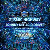 Cosmic Highway_27SEP2015 @ Pure Radio [Holland]