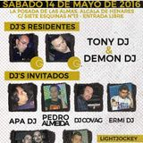 5.Session Dj APA vs Djs Residentes - FIESTA PRIMER ANIVERSARIO REMEMBER GOLD ALCALA 100x100 VINILO