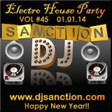 Top BEST ELectro House NEW Year 2014 Track & Mash up Mix #45 djsanction.com 01.01.13