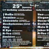 Joe Tyrrell aka DJ Eksentric - Live at Alberry's, Canterbury, Kent. 25th January 2005. Feat MC K-Eye