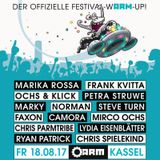 Frank Kvitta @ ARM Kassel - Kontrast Festvial Warmup 18.08.17