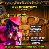 GLEN SLOLEY LIVE INTERVIEW WITH DJ JAMMY ON ZIONHIGHNESS RADIO