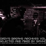 Jordy's breaks archives vol.2 / selected and mixed by Sayko